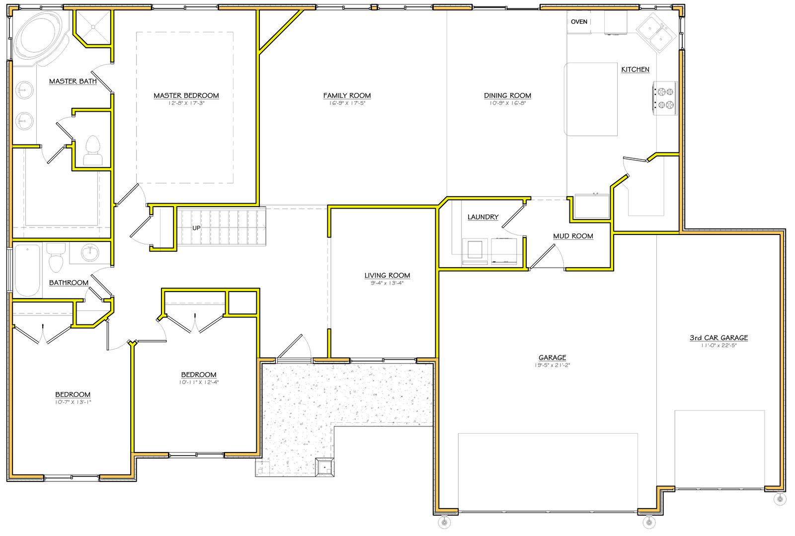 Utah rambler house plans for Home designs utah